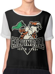 Calvinball  Chiffon Top