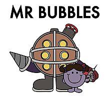 Mr Bubbles Photographic Print