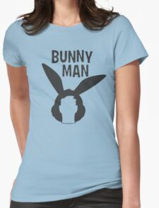 "Official ""Bunny Man"" Logo Tshirt Womens Fitted T-Shirt"