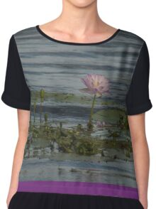 Tranquil Waters  Chiffon Top