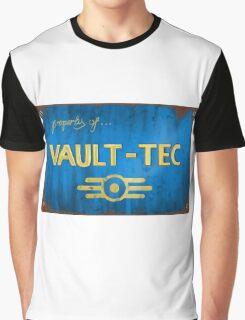 Property of Vault tec Graphic T-Shirt