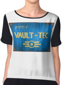 Property of Vault tec Chiffon Top