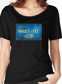 Property of Vault tec Women's Relaxed Fit T-Shirt