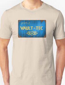Property of Vault tec Unisex T-Shirt