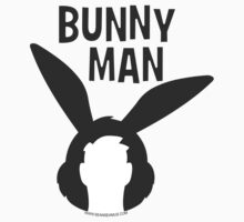 "Official ""Bunny Man"" Logo Sticker by seanseamus"