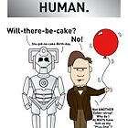 A Doctor Who/Cyberman Birthday Card by mjfouldes