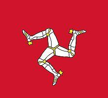 Flag of Isle of Man by abbeyz71