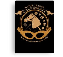 Major League Calvinball Canvas Print