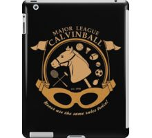 Major League Calvinball iPad Case/Skin