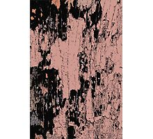 Grunge Pink and Black abstraction Photographic Print