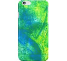 Abstract Print - Oceanic Pasture iPhone Case/Skin