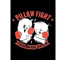 pillow fight feather weight division Photographic Print