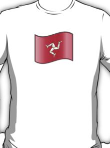 Waving Flag of Isle of Man T-Shirt