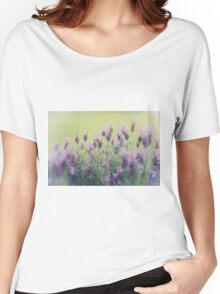 Lavender Women's Relaxed Fit T-Shirt