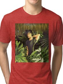 him in the plants Tri-blend T-Shirt