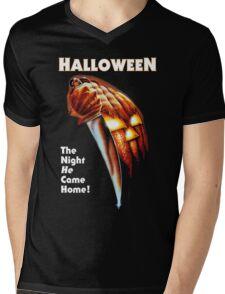 HALLOWEEN - The Night He Came Home! Mens V-Neck T-Shirt
