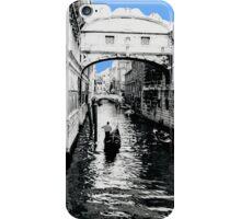 Bridge of Sighs Venice Blue iPhone Case/Skin