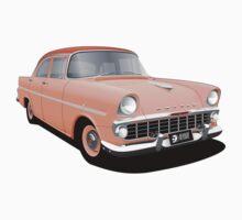 Holden EK Special Sedan - Coral Two Tone Baby Tee
