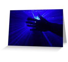 Rave Handz Greeting Card