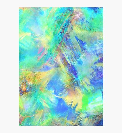 Neon - Abstract Print Photographic Print