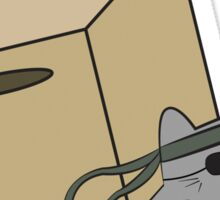 Metal Gear Kitty Sticker