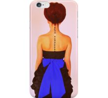 Girl from the 60's iPhone Case/Skin
