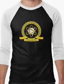 Midtown School of Science and Technology Logo Men's Baseball ¾ T-Shirt