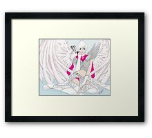 ranger with wing glider Framed Print