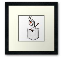 Cold Spot Framed Print