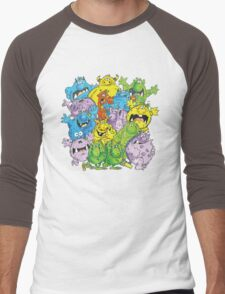 Real 'lil' Monsters Men's Baseball ¾ T-Shirt