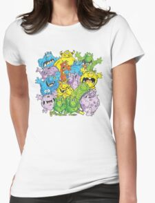 Real 'lil' Monsters Womens Fitted T-Shirt