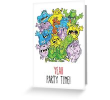 Real 'lil' Monsters Greeting Card