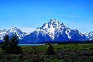 The Grand Teton Mountains by Tori Snow