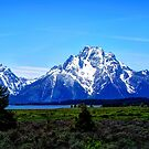 The Grand Teton Mountains by Tori Snow
