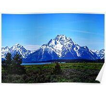 The Grand Teton Mountains Poster