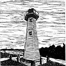 Cleveland Lighthouse by SpottiClogg