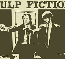 Pulp Fiction by bigturtles