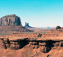The Lone Cowboy by Bryan Shane