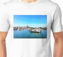 """Where The Boats Sleep"" Photo / Digital Painting  Unisex T-Shirt"