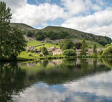 Kilnsey Trout Farm Yorkshire Dales by Nick Jenkins