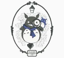Totoro Holmes by ricolaa