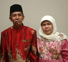 senior couple by bayu harsa