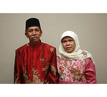 senior couple Photographic Print