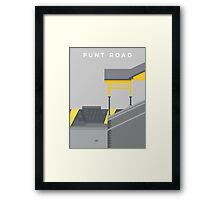 Punt Road - Two Tone Framed Print