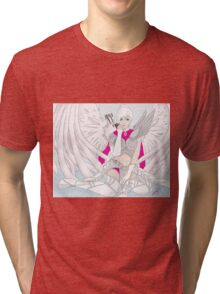 ranger with wing glider Tri-blend T-Shirt