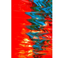 Sound Waves - Abstract Print Photographic Print