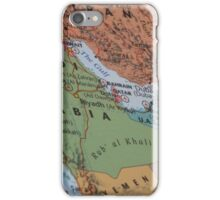 Map of the middle iPhone Case/Skin