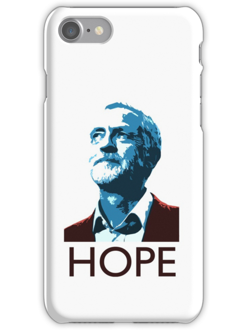 Jeremy Corbyn Hopeu0026quot; iPhone Cases u0026 Skins by west12345 : Redbubble