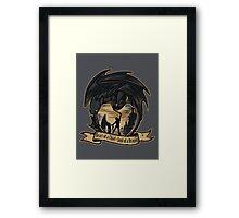 Soul of a Dragon Framed Print