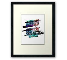 Vitriolic Framed Print